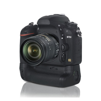 Meike MK-DR750 Baterie mâner Built-in 2.4 g Wireless de Control Battery Grip pentru Nikon D750 CA MB-D16 Wireless Re+EN-EL15 Acumulator