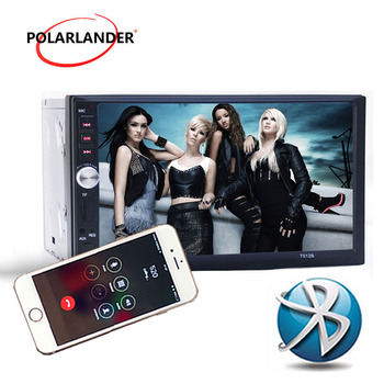 7012B 2 Din Masina FM radio, Bluetooth 7 inch Auto Audio Stereo Suport Spate Vedere aparat de Fotografiat USB SD AUX IN Video MP5 Player Mirror Link