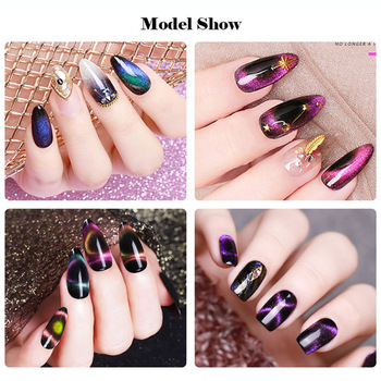 Beautilux Gel Polish Kit 9D Galaxy Ochi de Pisica Gel lac de Unghii Mulțime Magnetic LED UV Geluri Lac Semi-Permanent Lac de Unghii 6pcs/set