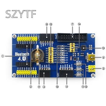 J34 NRF51822 BLE4.0 Bluetooth Comitetul De Evaluare 2.4 G Wireless Communication Module
