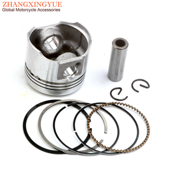 Scuter 39mm Piston Kit pentru Suzuki lets4 lets5 Adresa UZ50 50cc 12111-32G00 12140 10mm