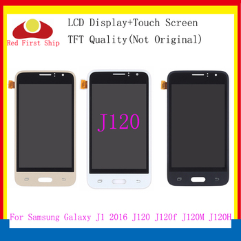 10buc/lot lcd Pentru SAMSUNG GALAXY J1 2016 LCD J120 J120f J120M J120H Display Touch Screen Digitizer display pentru Samsung j120f