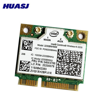 Huasj Pentru Lenovo Y400 Y500 Centrino Wireless-N Intel 2230 wireless Bluetooth 4.0 Wifi N 300M mini pcie card 04w3765
