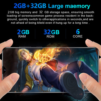 SOYES S30U Plus 6.8 Inch Smartphone Android 10.0 Hexa Core 4800mAh 3GB memorie 32GB Telefonul Mobil 4G Globale de Telefoane Mobile Android