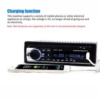 12V Auto universal MP3 Auto FM Stereo AUX Input Receptor SD, USB, Radio MP3 Player In-Dash Unitate