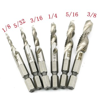 Mâna Apăsați Drill 6pcs/set Hex 1/4